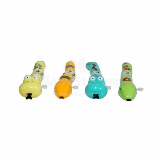 BebeBee Art.G2215 Mehaniski uzvelkamā rotaļlieta Tārpiņš
