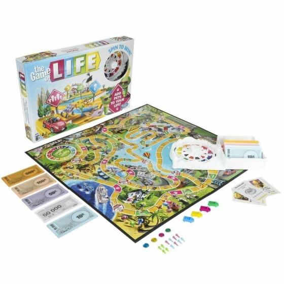 Hasbro Game Of Life Art.E4304RUS  galda spēle(Ru)