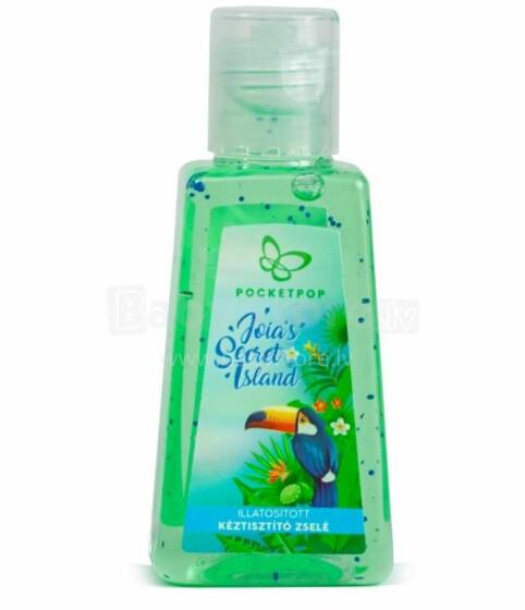 Pocketpop Cleansing Hand Gel Art.59946366 Secret Island Higiēnisks dezinfekcijas līdzeklis -gēls 30 ml