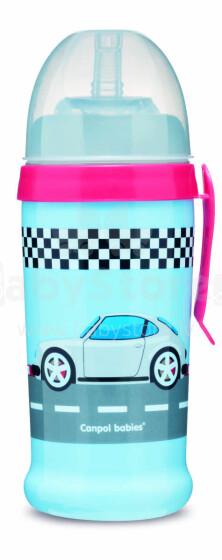 CANPOL BABIES non-spill sport cup Racing Cars, dark blue, 56/516_blud