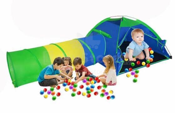 TLC Baby Play Tent Art.OC102 Bērnu telts ar tuneli