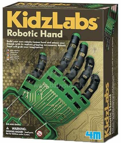 4M Robotic Hands Art.00-03284 Komplekts Robota roka