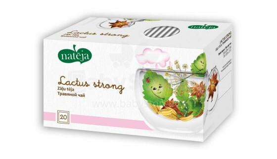 Nateja Lactus Strong Art.7799 Māmiņu tēja