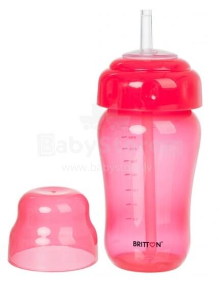 Britton Non Spill Straw Cup Art.B1520 krūzīte ar salmiņu 270 ml