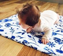 Lullalove Baby Wrap  Art.118925 MRB  mazuļu konvertiņš 75x75 cm