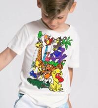 Splat Planet T-Shirt Zoo Art.SP70426 Bērnu t-krekls ar flomasteriem