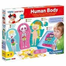 Clementoni Human Body Art.50590 Komplekts Cilvēka anatomija
