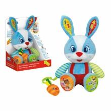 Clementoni Talking Rabbit Oscar Art.50609 Runājoša interaktīvā rotaļlieta Gudrais Zaķis (  LV/EST/RU/LT) (analogs Fisher Price Gudrais Kucēns)