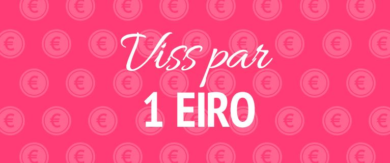 Viss par 1 eiro